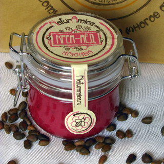 Крем-мёд клюквенный