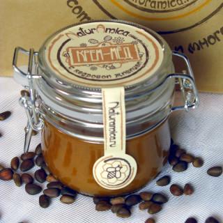 Крем-мёд с кедровой живицей