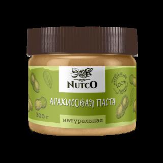 Арахисовая паста NUTCO натуральная 300 гр