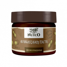 Арахисовая паста NUTCO шоколадная 300 гр