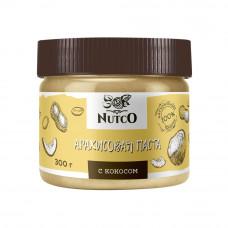 Арахисовая паста NUTCO с кокосом 300 гр