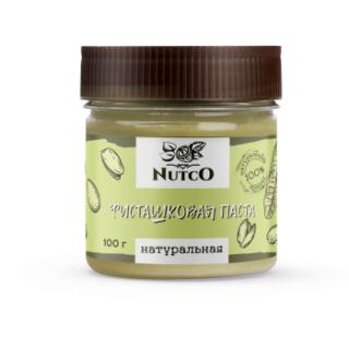Фисташковая паста NUTCO натуральная 100 гр