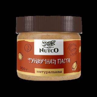 Фундучная паста NUTCO натуральная 300 гр