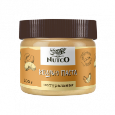 Кешью паста NUTCO натуральная 300 гр